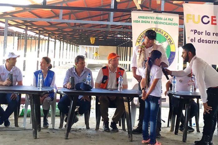 Inicia programa de reincorporación ambiental para las Farc